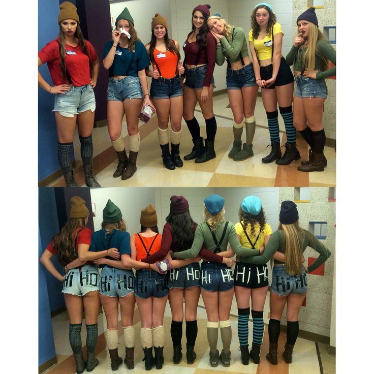 Cute DIY costume for seven dwarfs! More