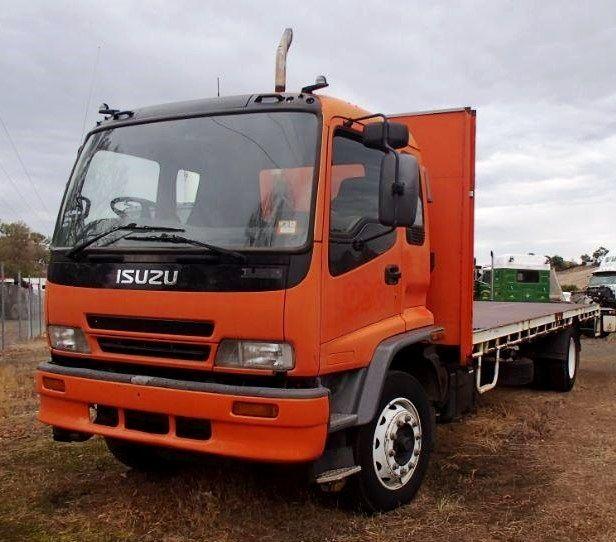 Isuzu Ftr 900 4x2 Tray Body Truck Australia Trucks Body Vehicles