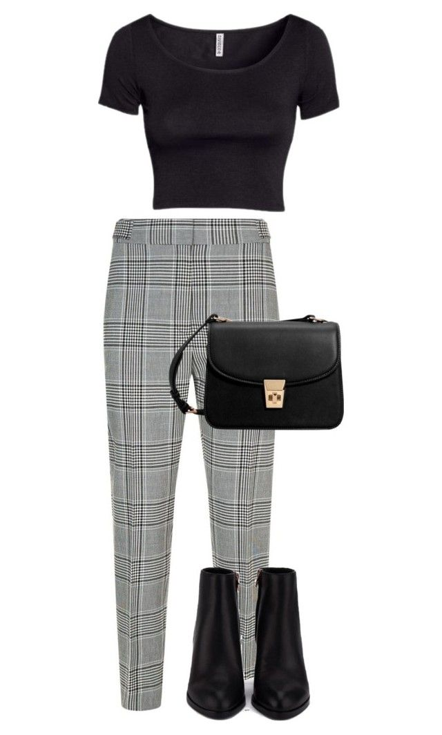 """#207"" by mintgreenb on Polyvore featuring Alexander Wang and MANGO"