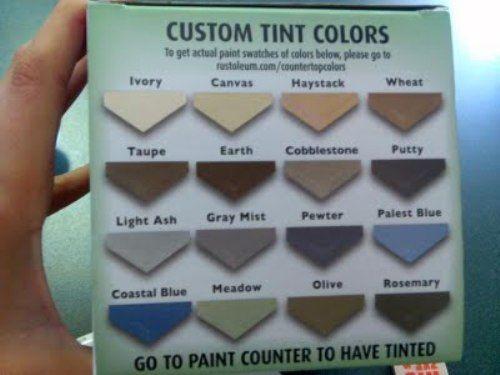 rustoleum+tile+colors | Rustoleum Countertop Paint | Kitchen Appliance Reviews