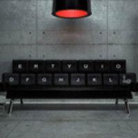 Qwerty, il divano-tastiera
