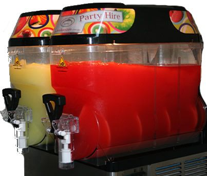 Double Bowl Slushie Machine - Slushie Machines. Winter Special Slushie Machine Hire $199 Sydney deliverires