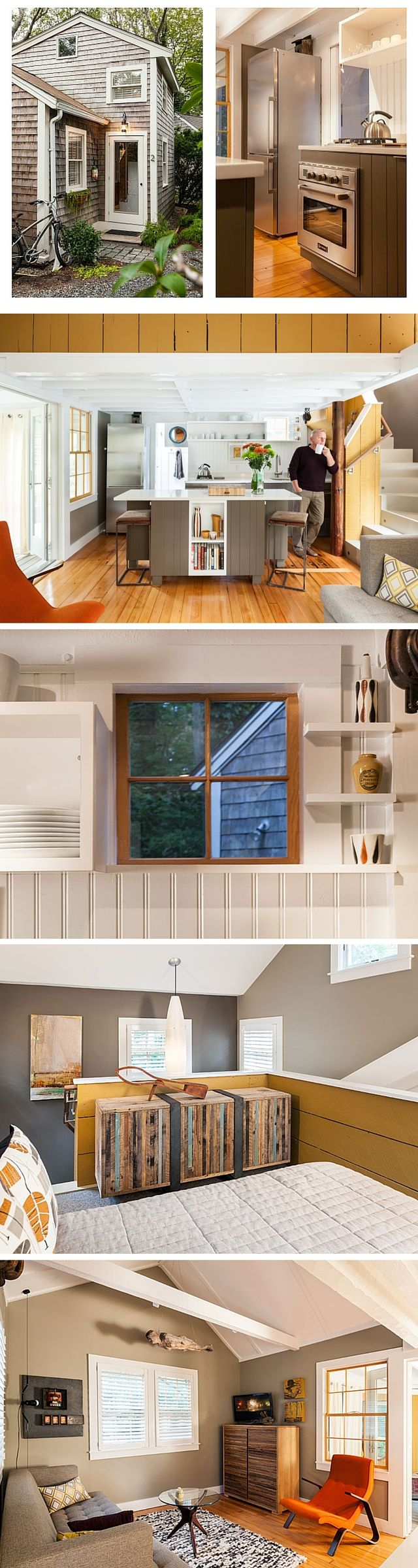 A 350 sq ft Cape Cod cottage