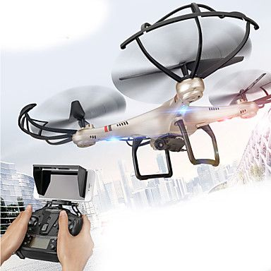 Drone Udi R/C 350HW 4CH 6 Axis 2.4G With HD Camera RC QuadcopterFPV / LED Lighting / One Key To Auto-Return / Auto-Takeoff / 360°Rolling #quadcopters #tech #rc #drone #multirotors