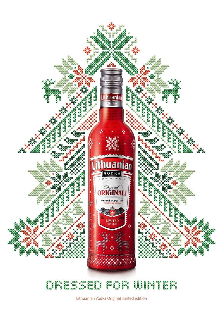 Lithuanian-Vodka-Original-Limited-Edition- http://www.ibelieveinadv.com/2013/01/lithuanian-vodka-original-limited-edition-winter-edition/