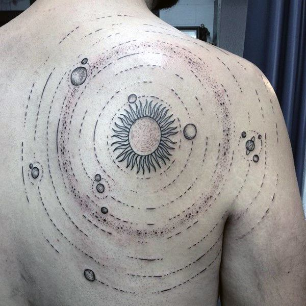 solar system tattoo designs - photo #49
