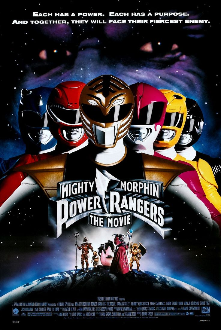 Return to the main poster page for Mighty Morphin Power Rangers: The Movie (#2 of 3)