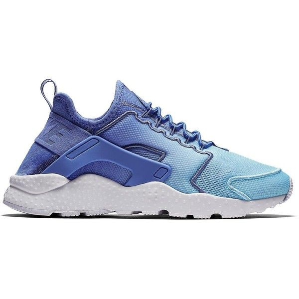 Nike Air Huarache Ultra Breathe ($130) ❤ liked on Polyvore featuring shoes, air sole shoes, fleece-lined shoes, stretch shoes, nike shoes and white shoes