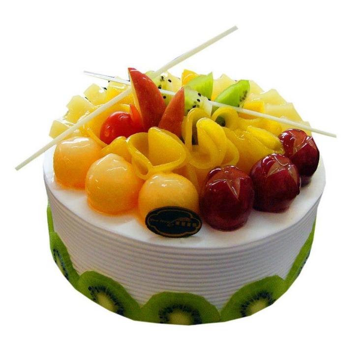 tres leches con deliciosas frutas