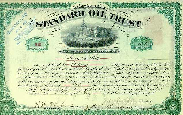 Standard Oil used horizontal integration to undercut competition and form a monopoly on oil.