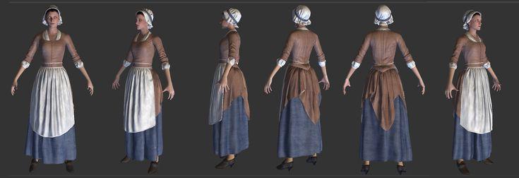 ArtStation - Assassin's Creed Unity, Damien Levaufre