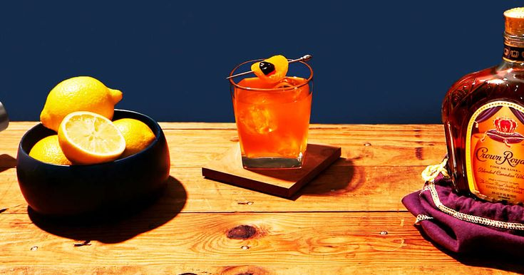 Kanadischer Whisky Sour – Drinks