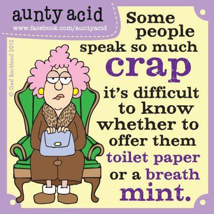 #AuntyAcid #AAttitude #FunnyWomenWho Do You Know?