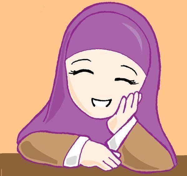 Gambar Kartun Wanita Muslimah Tersenyum 30 Gambar Kartun Muslimah Terbaru 2018 Sahabat Di 2020 Kartun Gambar Anime Gambar