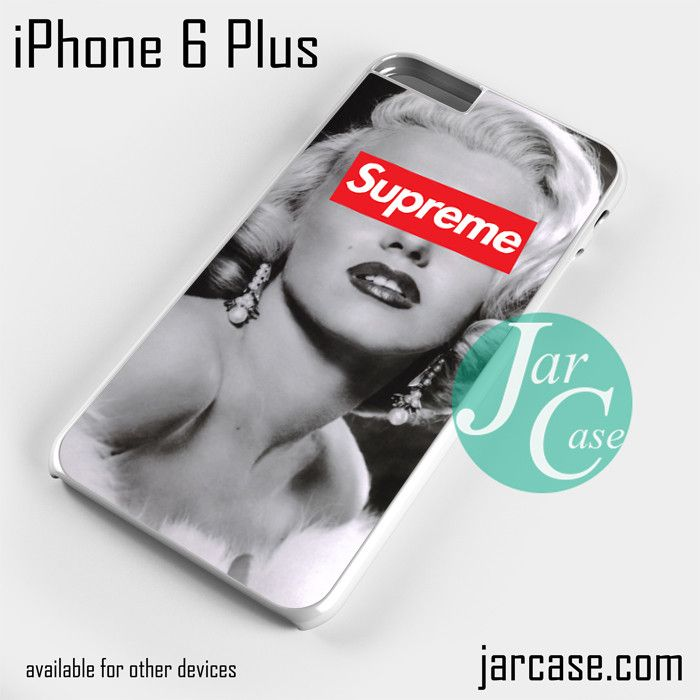 Merlyn Monroe Supreme YD Phone case for iPhone 6 Plus and other iPhone devices
