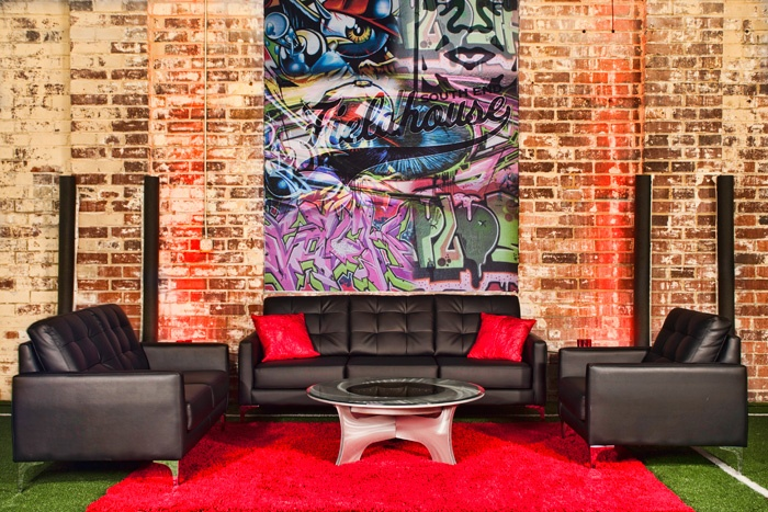 Black And Red Lounge Area Afr 39 S Metro Line With Infinity
