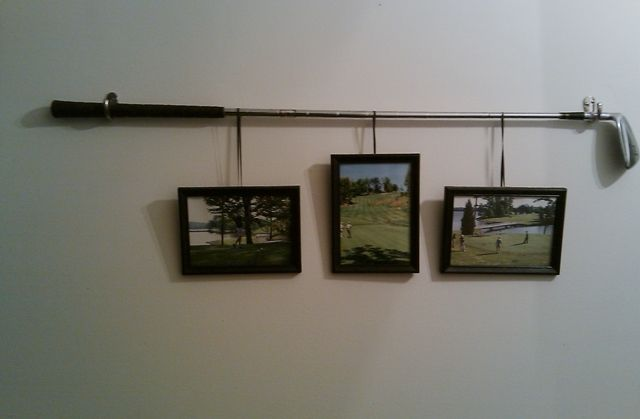 A different way to display your favorite golf pictures