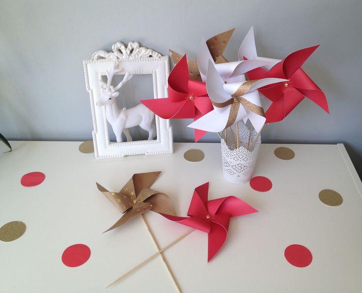 Lot 8 moulins vent pour la d coration de votre int rieur - Pare vent interieur decoration ...