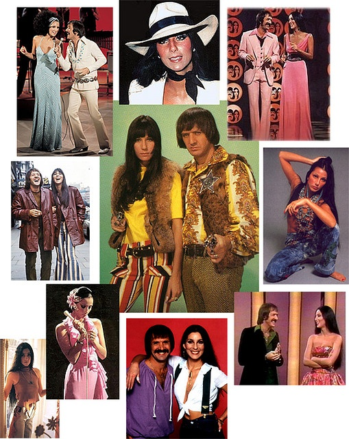 Style Icons Sonny and Cher                                                                                                                                                                                 More