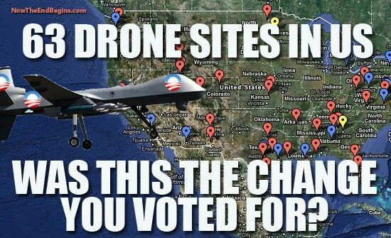 Imagine the outrage if Bush had used drones to spy on American citizens... or anyone for that matter. Actually, imagine the outrage if the mainstream media was actually doing their job instead of acting as Obama's cheerleading squad. Drones and cell phone tapping today, folks... confiscation of private property and re-education work camps tomorrow. We are all frogs in a giant vat of slowly heating water. We are all lemmings, running joyfully toward the cliff edge. Wake up before it is too…