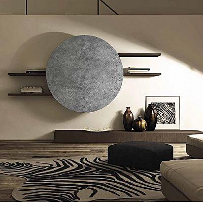 Beautiful, unique 'Stone' Wall Unit by Veneran