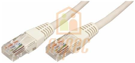Rexant Патч-корд  utp 5e кат. литой  5м  серый  rexant  — 1200 руб. —  Патч-корд UTP 5e кат. литой 5М СЕРЫЙ REXANT предназначен для подключения активного и пассивного сетевого оборудования в составе структурированной кабельной системы, и представляет собой шнур из 4-х пар изолированных проводников, скрученных между собой, находящиеся в общей изоляции с разъемами типа 8P8C. Патч-корд (от англ. patching cord — соединительный шнур) необходим для соединения телекоммуникационного оборудования…
