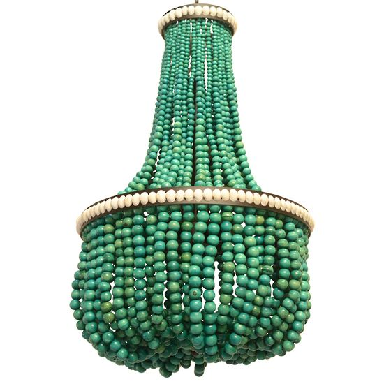 cotedazure_turquoise_beaded_chandelier