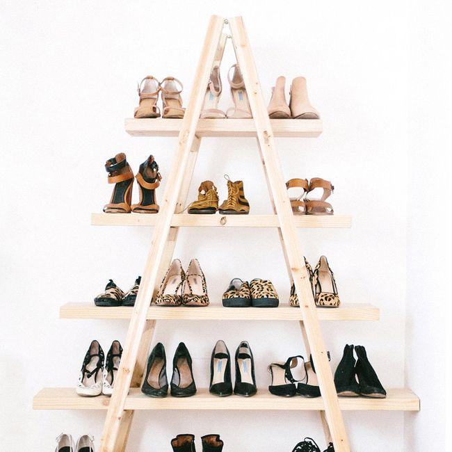 Les 25 meilleures id es concernant d corer chaussures sur for Rangement chaussures diy