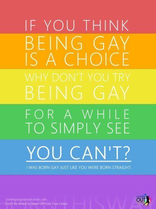Gay straight alliance sayings