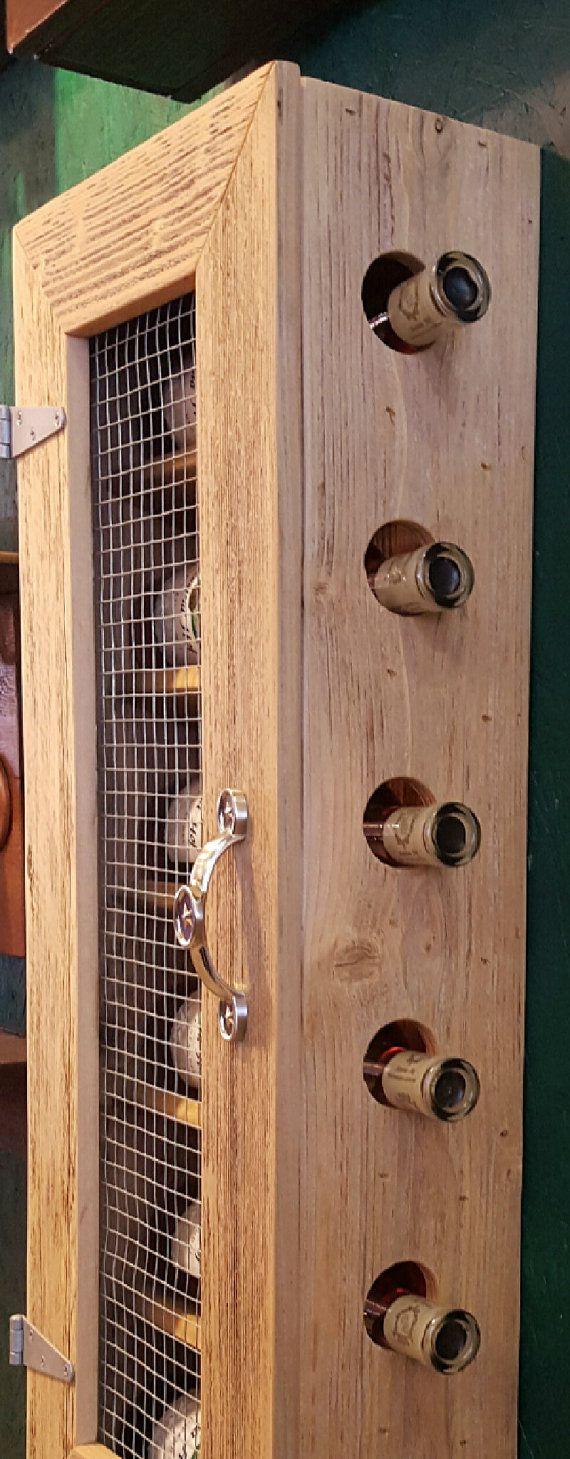 Armario rústico almacenaje del vino gabinete del vino