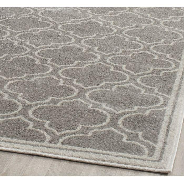Mercer41 Currey Light Gray/Ivory Outdoor Area Rug & Reviews | Wayfair