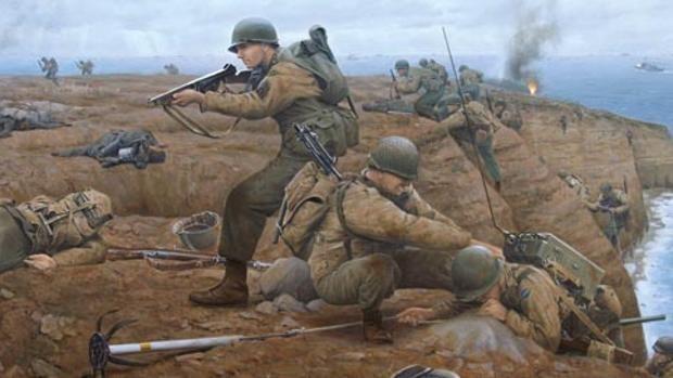 Así iban equipados los Rangers, las fuerzas especiales que expulsaron a Hitler de las «sangrientas» playas de Normandía