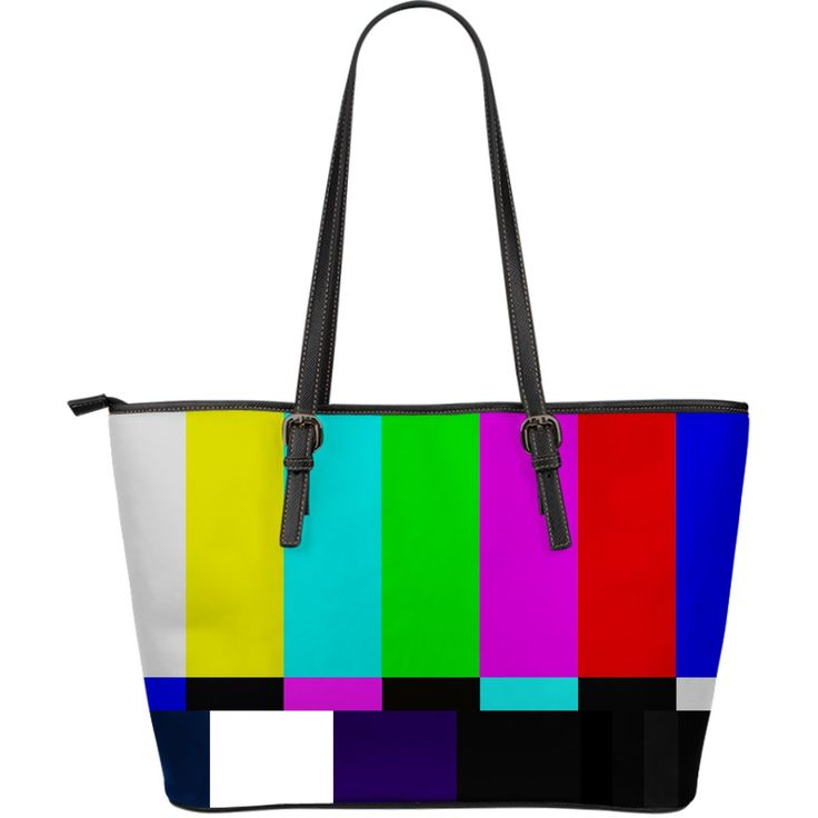 Grand sac Fourre-tout en cuir TV