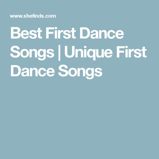 17 best ideas about first dance songs on pinterest first for Unique first dance wedding songs