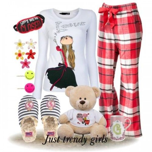 Moschino pajamas for woman, Girly cute pajamas http://www.justtrendygirls.com/girly-cute-pajamas/