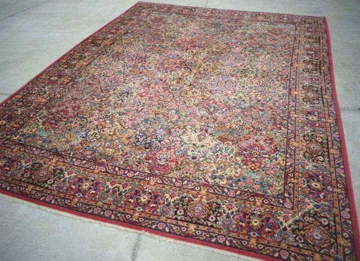 Beautiful Persian Kirman Rug By Karastan In The Multicolor