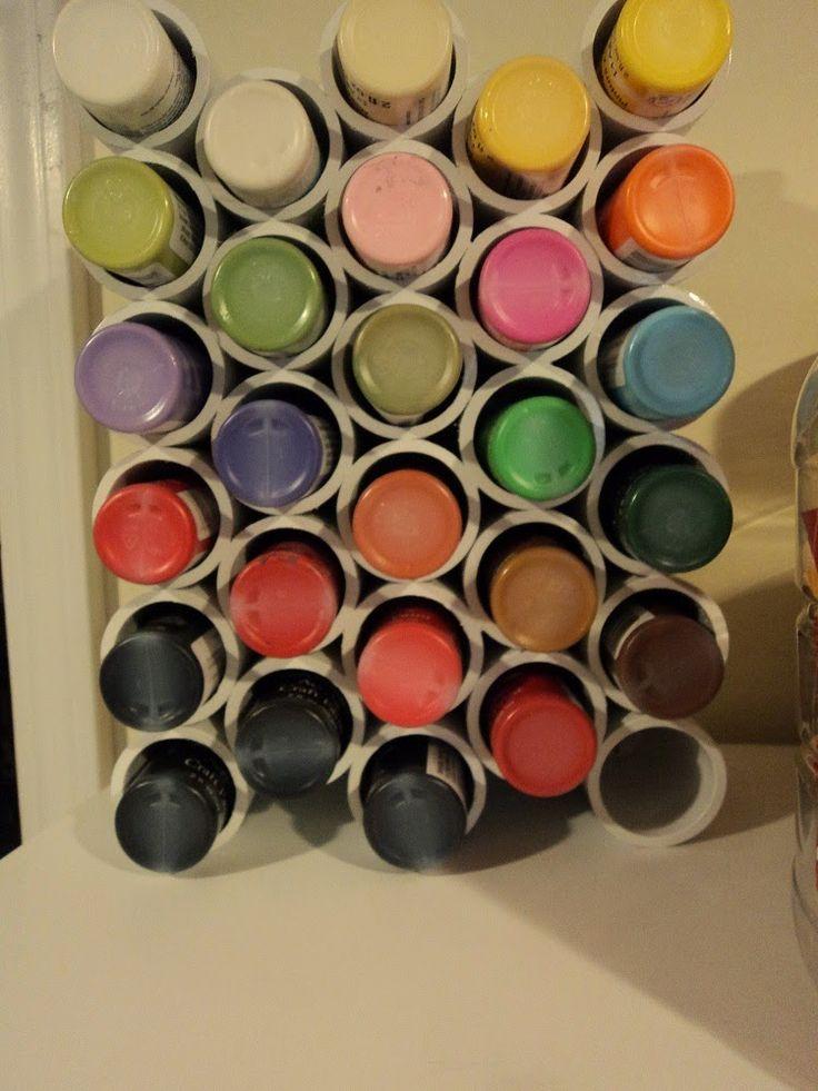 rangement peinture