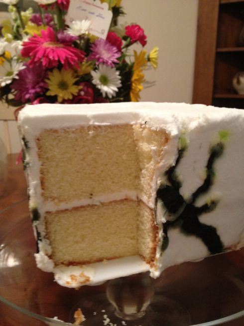 how to thaw wedding cake