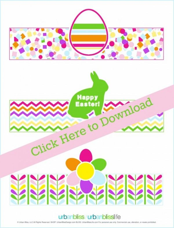 Easter Printables | Download your free copy of these Easter Egg holders at Today…   – DIY Crafts