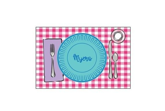 Personalized Placemat Laminated Placemat Kids Placemat Customized Placemats For Kids Craft Ma In 2020 Placemats Kids Personalised Placemats Placemats
