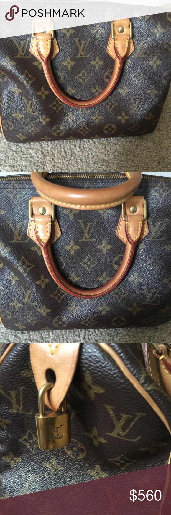 👜Louis Vuitton Speedy 25 ✨✨ Beautiful LV Speedy 25 in immaculate condition. This bag has been well taken care of. This bag comes with dust bag and box. No tears, marks or flaws inside nor outside. Code SP1929. Louis Vuitton Bags Totes