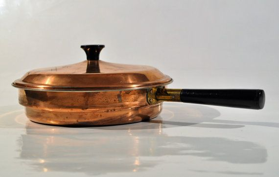 Copper pan chafing dish/decoration pan/ Trademark by decor4home2