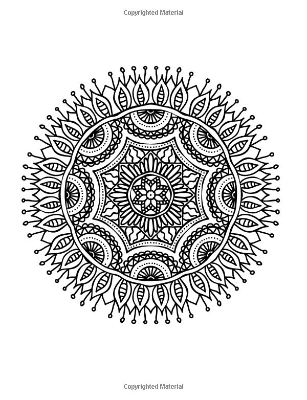 Really RELAXING Colouring Book 7 Mindfulness Mandalas A