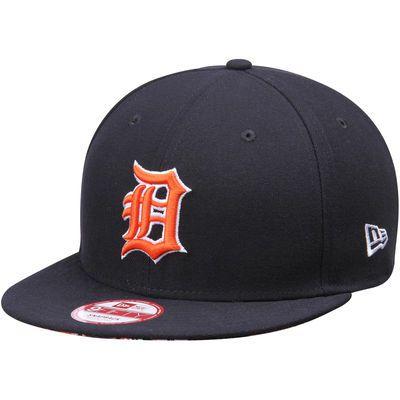 Detroit Tigers New Era Sneak Peek 9FIFTY Adjustable Hat - Navy