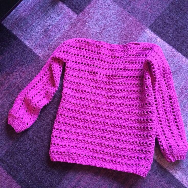 Heklet genser