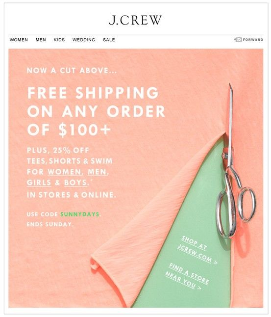 j. crew #freeshipping