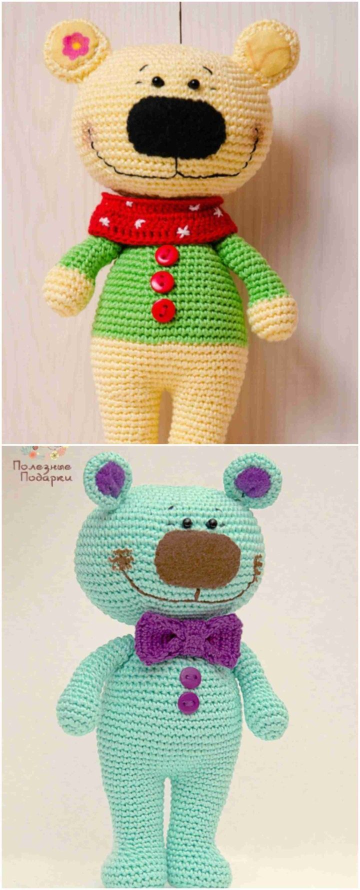 Amigurumi Bears Video Tutorial Crochet Amigurumi Häkeln