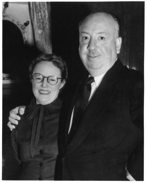 Alma Reville Hitchcock (14 August 1899 – 6 July 1982) with husband.