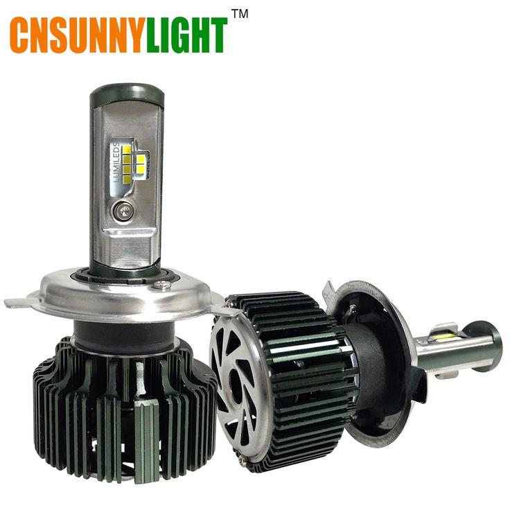 Cnsunnylight csp led h3 h1 h4 h7 h11 h13 9005 9006 9004 9007 HB3 HB4 80 W 8000lm Coche LED Faros de Niebla del Bulbo de Luz 6000 K 12 V 24 V