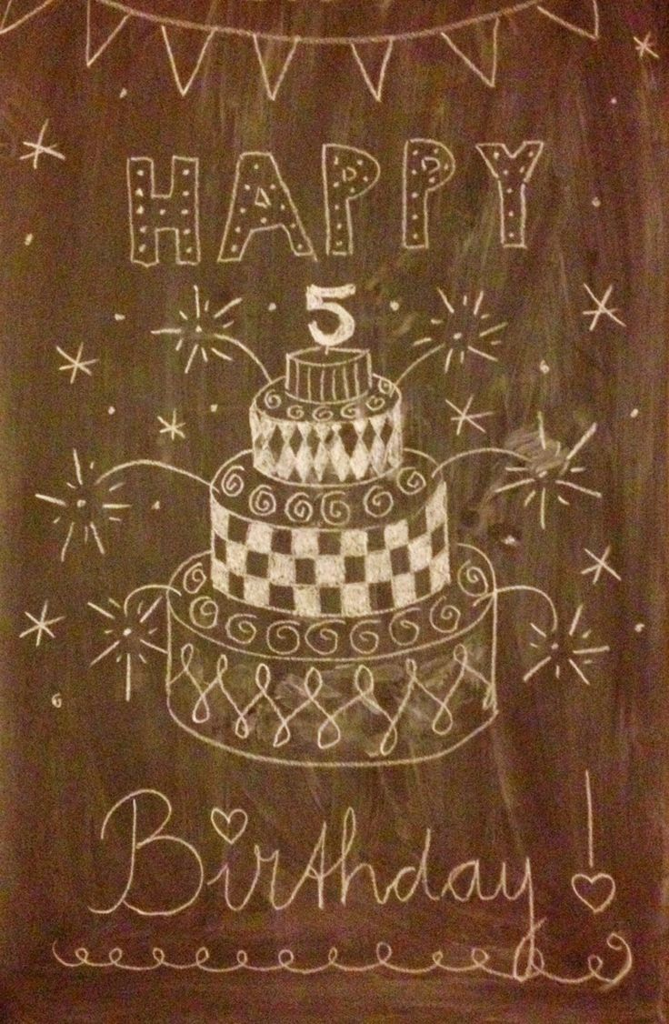 Howling at the moon: Birthday Decoration
